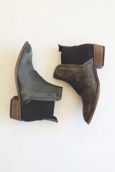 Free People Dark Horse Ankle Boot at Prism Boutique Crazy Shoes, Me Too Shoes, Over Boots, Mode Shoes, Shoe Boots, Shoe Bag, Cute Ankle Boots, Low Heel Ankle Boots, Dress Boots