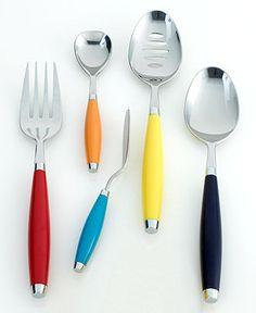 Fiesta 5-Piece Hostess Set - Flatware & Silverware - Dining & Entertaining - Macy's