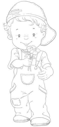 Frame and Coloring Page for kids - Raste-enblog2