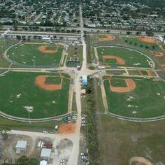 Bob Gladwin Baseball Complex At Lawnwood
