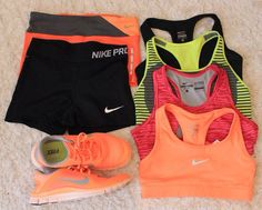 Nike Pro workout gear | Cute workout clothes | Fitness Apparel | Gym Clothes | Yoga Clothes | Athletic apparel - SHOP @ http://www.FitnessApparelExpress.com