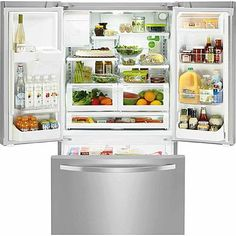 Kenmore 22 cu. ft. Counter Depth French Door Refrigerator - Stainless Steel 2