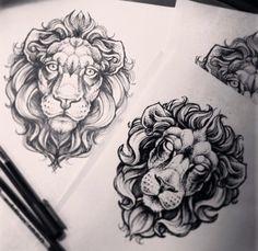 Alex Tabuns lion design