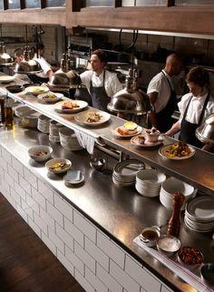 restaurant kitchen 50 New Restaurants - The Optimist, Atlanta GA The Optimist-ATL, Bon Appetit Top 50 New RestaurantsThe Optimist-ATL, Bon Appetit Top 50 New Restaurants