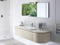 #Napoli #Posillipo #Pozzuoli #Vomero #Fuorigrotta #Bagnoli #Campania #madeinitaly  #bagno, #mobili #arredobagno Mobile lavabo singolo con specchio COMP MSP13 by IdeaGroup