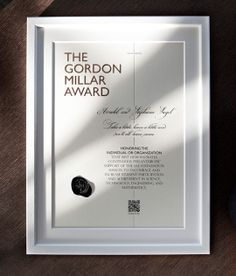 Gordon Millar Award - corporate and web design by moodley brand identity , via Behance Brand Identity, Logo Branding, Web Design, Logo Design, Science Student, Graphic Design Inspiration, Editorial Design, Typography Design, Cool Designs