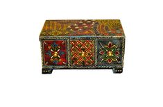 "Store you small items easlily in this beautiful Handpainted Wooden 3 Drawer Chest!  Get it from our online store visit:  Singhalexportsjodhpur.Com and search for ""RS102"" in the search box  Use code EARLYBRD5 to get amazing discounts.  LALJI HANDICRAFTS - WORLDWIDE SHIPPING - EXCLUSIVE HANDICRAFTS  INDIAN DECOR INDUSTRIAL DECOR VINTAGE DECOR POP ART MOVIE POSTERS VINTAGE MEMORABILIA FRENCH REPLICA 