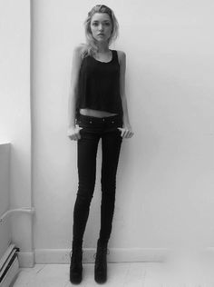 Thinspo I wish I looked that good in my black jeans