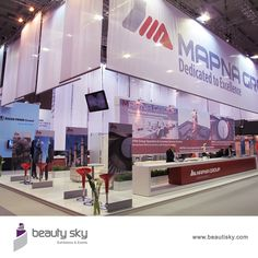 Mapna Group Italy For more details visit our website : http://beautisky.com #ExhibitionStandDesignersDubai