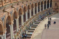 Plaza de España. Sevilla, Spain via the Suitcase Lioness blog. Photo credit .:. Amy Lucas