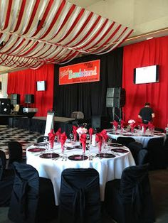 Grease Theme Gala, Grease Lightning, Rydell High, Red and White Gala, Record Chargers
