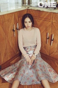 """Min Hyo Rin States Which Kind of Man She Wants to Marry for """"ONE"""" Photoshoot 