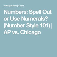 Numbers take up their own planet in the style universe, so let's explore it one mountain at a time. Numeral Numbers, Grammar And Punctuation, Fashion 101, Spelling, Chicago, Universe, Mountain, Explore, Style