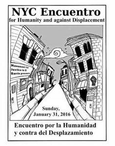 Nueva York: Invitación al Encuentro por la Humanidad y en contra del Desplazamiento