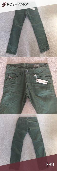 Diesel Mens Jeans Denim Slim Tapered $195 Sz 30/32 Diesel Mens Jeans   Style: Slim Tapered  Wash Code: OO8QU Men's size: 30/32 BRAND NEW WITH TAGS AT $195.00 Diesel Jeans Slim