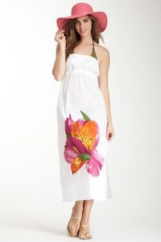Tiger Lily Strapless Dress by echo on @HauteLook