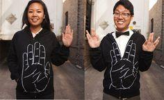 Trekkie hoodie must-have.