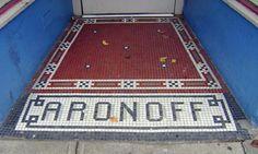 Aronoff tile, Over-the-Rhine, Cincinnati