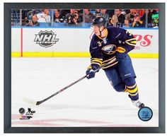 """Mark Pysyk 2013-14 Buffalo Sabres - 11"""" x 14"""" Photo in a Glassless Frame"""