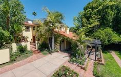 Joel Madden and Nicole Richie list their Laurel Canyon Estate - Nestled in the quiet hills north of L.A., stylish rockstar couple Joel Madden and Nicole Richie put their Spanish Colonial home on the market. - Photos