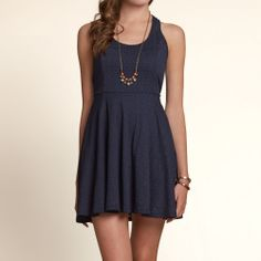 Bettys Pacific Coast Knit Skater Dress | Bettys Dresses & Rompers | eu.HollisterCo.com