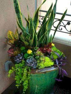 nice 41 Smart and Creative Garden Container Ideas #creativecontainergardeningideas