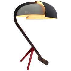 Very Rare Exclusive Desk Lamp by Louis Kalff, by Philips Anno, 1950