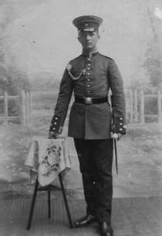 Young Prussian N.C.O. c.1912 in his dress uniform