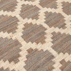 Taupe Jiya Flat-Woven Hemp Rug - World Market.  8x10 rug is $479.99 retail