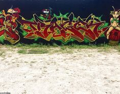 Tragek / Miami / Walls Graffiti. Visit our website to find the greatest selection of the crushed walls we have found.