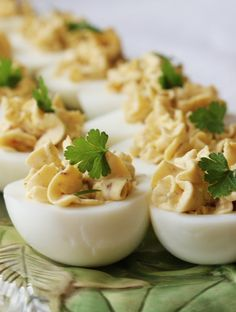 Bacon - Balsamic Deviled Eggs. If you have a small processor, or a wand, blend this till very smooth, refrigerate it for an hour, THEN fill the eggs. This is good.  ~