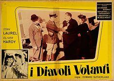 "The Flying Deuces 1965 Authentic 26.75"" x 19"" Original Movie Poster Jean Parker War Italian Photobusta"