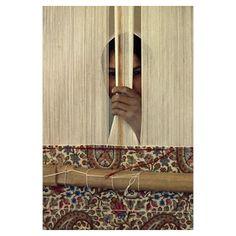 Great Shot!!! Carpet Weaver. Kerman, Iran