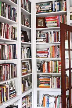 The Farmer's Nest: Library, Master Bedroom and Bathroom {Home Tour}