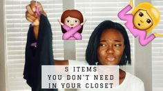 DECLUTTER WITH ME | 5 things YOU need to get rid of in your closest! Declutter with me!! In this video I am showing you guys 5 categories of items or things I am getting rid of I my closet cos they are just occupying space. Thanksss for watching this video. I hope you enjoyed it. Follow me on all my social media. IG: @deronkee_ Snapchat: deronkee Facebook: Ronke Bee