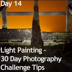 Light Painting - 30 Day Photography Challenge Tips  I NEED to do this asap!  at my photo class, some people did amazing shots. Inspired me to attempt my own