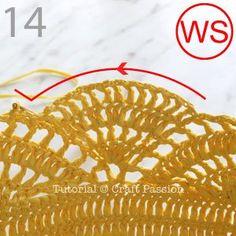 Crochet Pattern Free, Holiday Crochet Patterns, Crochet Motifs, Crochet Stitches, Crochet Beach Bags, Mochila Crochet, Crochet Patron, Tote Pattern, Crochet Purses