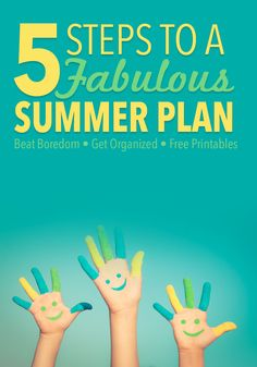 Get Organized for Summer with Kids