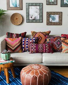 Texture, pattern, and color....the perfect setup for a home  ... """"