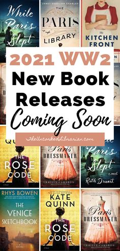 Don't miss these upcoming WW2 book releases of 2021. Find out the most-anticipated WWII upcoming book releases in the new year. Best Historical Fiction Books, Literary Fiction, Fiction And Nonfiction, New Books, Books To Read, Teaching History, Film Books, History Books, Historia