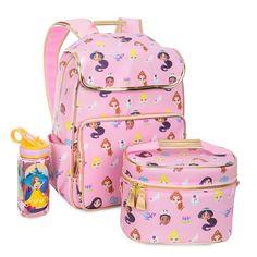 Product Image of Disney Princess Back-to-School Collection # 1 Disney Princess Backpack, Girls Luggage, Disney Coffee Mugs, Cute School Supplies, Disney Merchandise, Girl Backpacks, Baby Girl Shoes, Cute Disney, School Bags