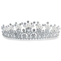 Checkout Flower Power Tiara at BlingJewelry.com