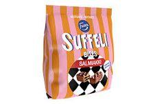 Kuvahaun tulos haulle fazer salmiakki Drink Sleeves, Lunch Box, Candy, Swimwear, Sweet, Bathing Suits, Toffee, One Piece Swimsuits, Sweets
