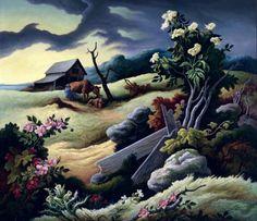 June Morning, Thomas Hart Benton