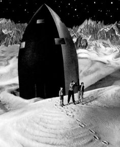 Woman in the Moon, Fritz Lang's 1929 silent science fiction film about mankind's first trip to the moon (via)