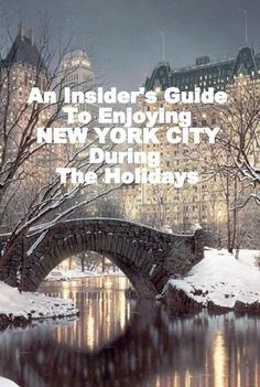 As the holidays are in full-swing, there are a handful of destinations that capture my attention, and one of them is without question New York City. While I have yet to visit during this festive time of year, it is on my list to do. So when New York City