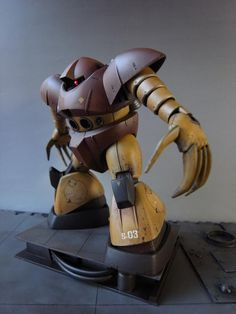 HGUC MSM-03 Model Art, Gundam Model, Mobile Suit, Robot, Anime, Highlight, Cartoon Movies, Anime Music, Robots