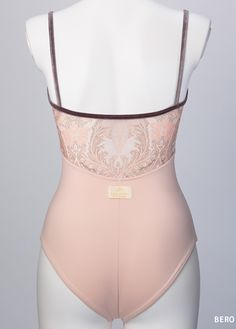 Ballet leotard / Paisley Tulle Camisole Leotard 2nd line |Dance & Ballet Wear manufacturer & shop made in Japan|-Dance & Ballet Products Brand - MARTY