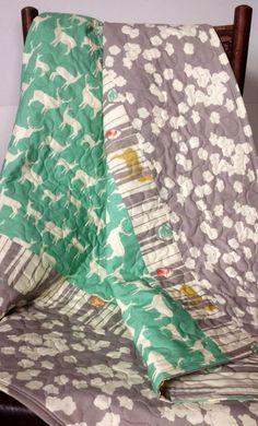 Printed fabrics.
