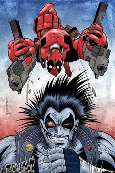Lobo Deadpool Jam by  Mike Oppenheimer